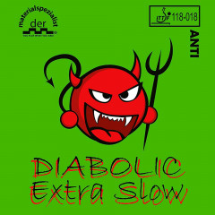 Der Materialspezialist Belag Diabolic Extra Slow